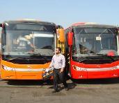 جذب ۵ دستگاه اتوبوس جدید برای سازمان اتوبوسرانی رشت و حومه