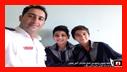آموزش ایمنی و آتش نشانی به دانش آموزان مدرسه شهید عبدی نژاد