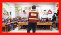 آموزش ایمنی و آتش نشانی به کودکان مهد های مهدیس مهر و خانه گلها