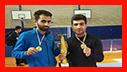 کسب دو مدال خوش رنگ طلا توسط آتشنشانان شهر باران در مسابقات قهرمانی کاراته دانشجویان استان گیلان