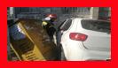 سرعت زیاد و عدم توانایی راننده خودروی سواری حادثه ساز شد