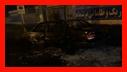 مهار آتش سوزی خودرو و منزل مخروبه در بلوار خرمشهر رشت خسارت جانی در بر نداشت/آتش نشانی رشت