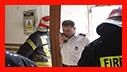 تلاش 49 آتش نشان در پی آتش سوزی سقف دبیرستان دخترانه/آتش نشانی رشت