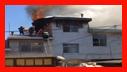 اطفای آتش سوزی منزل مسکونی در خیابان امام خمینی(ره) رشت/آتش نشانی رشت