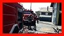 آتش سوزی در کارخانه لاستیک سازی/جاده فومن رشت