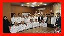 دیدار معاون خدمات شهری شهرداری رشت در نخستین روز کاری با آتش نشانان شهر باران