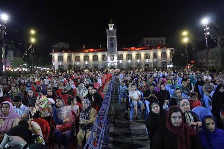 گزارش تصویری جشن عید سعید فطر در پیاده راه فرهنگی شهدای ذهاب (شهرداری رشت)