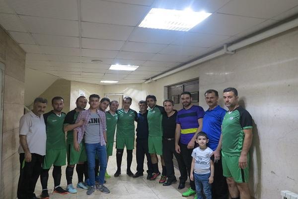 پیروزی تیم بلدیه (کارکنان  شهرداری رشت)  درمقابل تیم جوانان محله پاسخی رشت